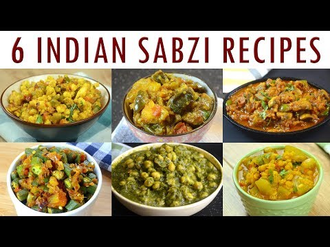 Indian Sabzi Recipes – Part 1 | Indian Curry Recipes Compilation
