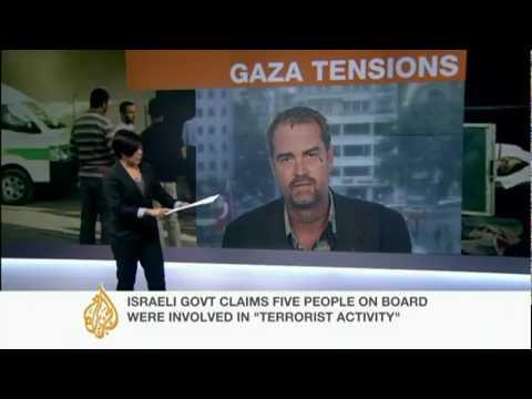 Gaza activist Ken Okeefe (ex marine) denies 'TERRORIST' tag