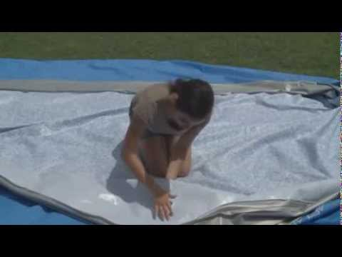 Montage Piscine Tubulaire Rectangulaire Bestway Youtube