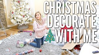 CHRISTMAS DECORATE AND CLEAN WITH ME | CHRISTMAS 2018 | Love Meg