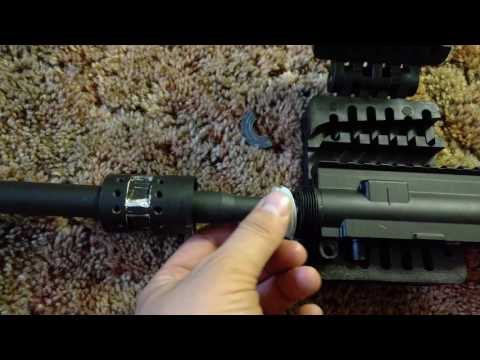 Shimming Free float barrels on Tippmann HPA m4