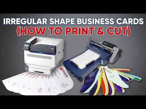 Business Cards Print & Cut Solution - Auto Sheet Feeding