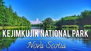 HIKING & CANOEING IN KEJIMKUJIK NATIONAL PARK   NOVA SCOTIA