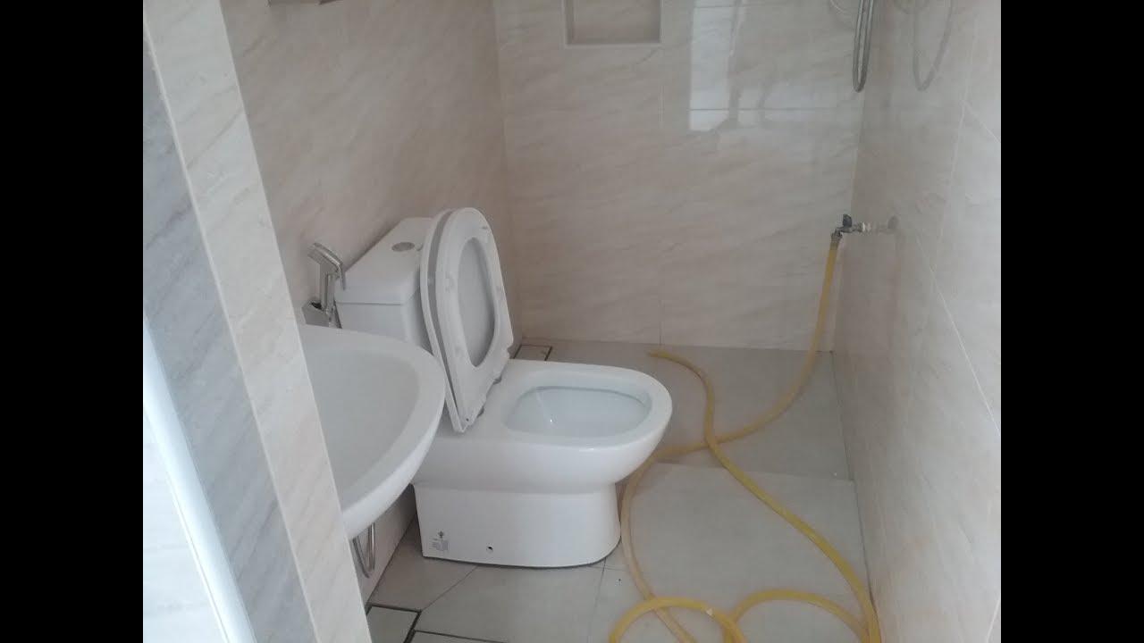 Pemasangan Tile Bilik Air Dinding Dan Lantai