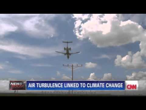 Plane turbulence now being blamed on climate change