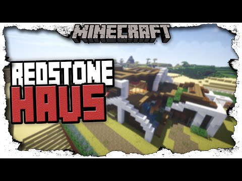 Full download modernes minecraft haus redstone german 2011 for Craftingpat modernes redstone haus