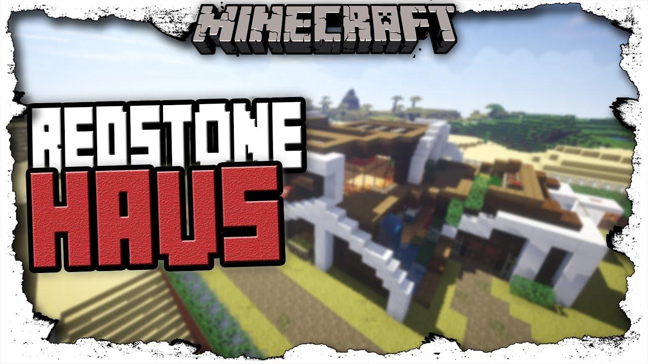 Minecraft sicherstes und modernste redstone haus for Minecraft modernes redstone haus download