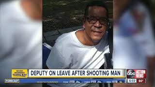 Sheriff Deputy forced to shoot suicidal man in Tampa