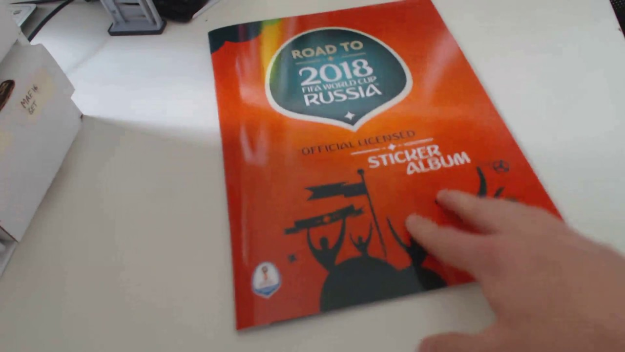 d7a239091 NEW COLLECTION!!! PANINI ROAD TO RUSSIA 2018 FIFA WORLD CUP ALBUM ...