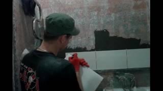 Капитальный ремонт ванной комнаты. Последовательность работ(Этот ролик обработан в Видеоредакторе YouTube (http://www.youtube.com/editor), 2016-11-27T11:16:24.000Z)