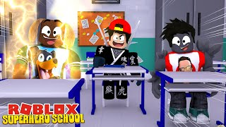 TRAINING TO BE THE GREATEST HEROES IN SUPER HERO HIGH SCHOOL - Roblox gaming adventures