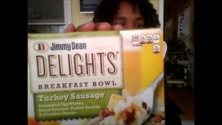 Jimmy Dean Delights Turkey Sausage Breakfast Bowl Review-veda 16