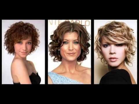 kurze frisuren mit locken youtube. Black Bedroom Furniture Sets. Home Design Ideas
