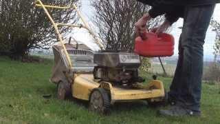 • Tondeuse Bernard BM4 : test moteur