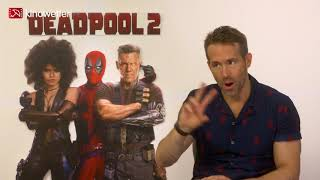 Interview  Ryan Reynolds DEADPOOL 2