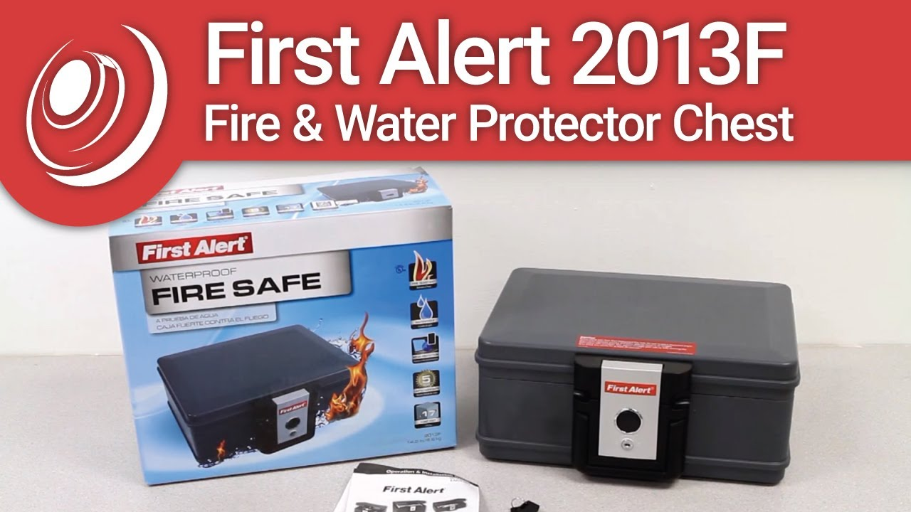 First Alert 2013F Fire Water Protector Chest YouTube – First Alert 2054f