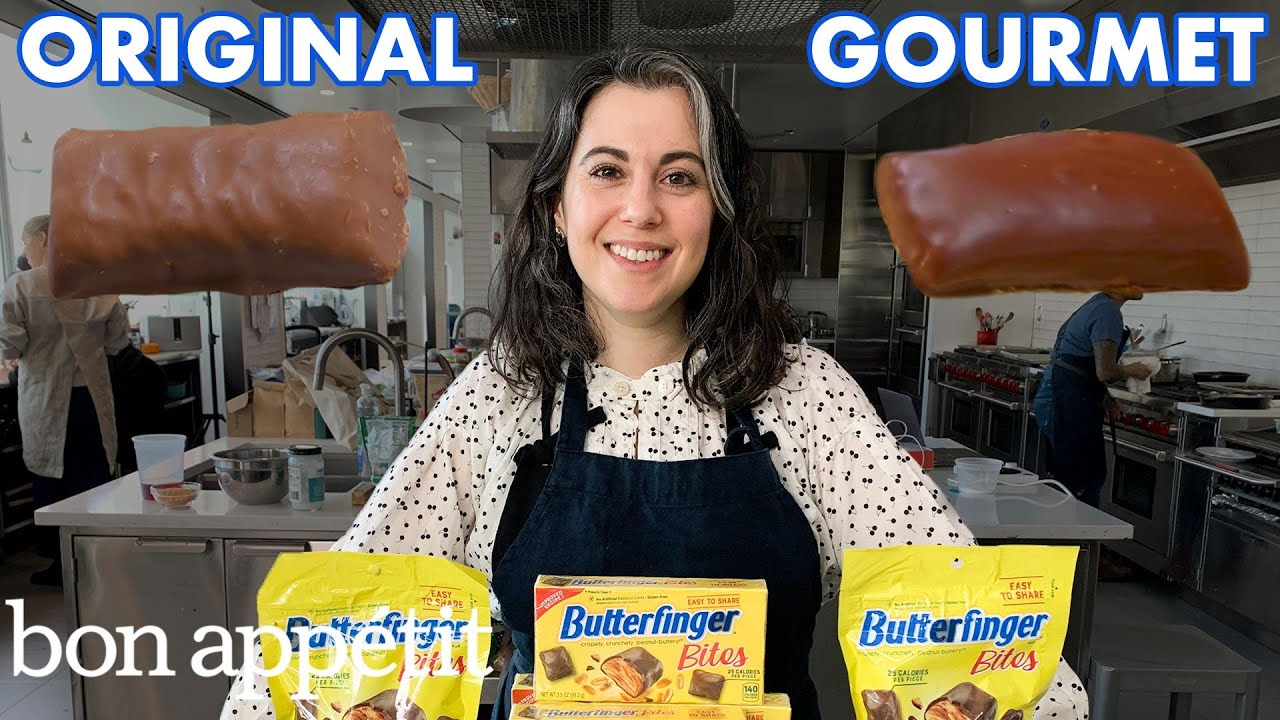 Download Pastry Chef Attempts to Make Gourmet Butterfingers | Bon Appétit