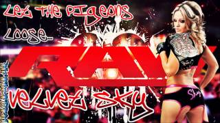 "(NEW) 2014: Velvet Sky 3rd WWE Theme Song ►""Drag You Down(Renegade Remix)"" + DLᴴᴰ"