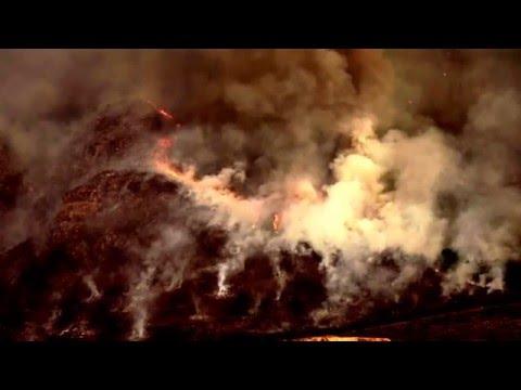 Stellenbosch Mountain Burning 2015