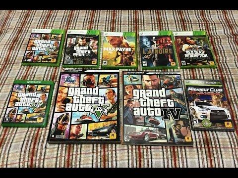 Minha Coleção Rockstar Games