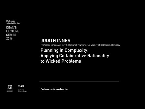Dean's Lecture Series 2016 - Judith Innes
