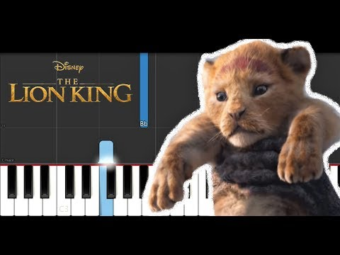 The Lion King Official Teaser Trailer Song (Piano Tutorial)