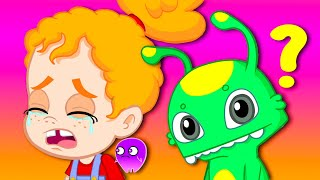 Groovy The Martian why is Phoebe crying? Full episodes! Cartoon for kids & Nursery Rhymes