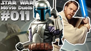 STAR WARS MOVIE DUELS 2 #011 Jango Fett vs  Obi Wan Kenobi Duell auf Kamino [Deutsch]