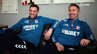 Jonathan Woodgate and Robbie Keane on becoming managers and facing Spurs