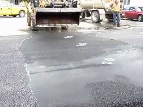 Heavy Duty Porous Asphalt Beach Road Lake George Ny