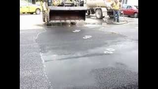 Heavy Duty Porous Asphalt - Beach Road Lake George NY