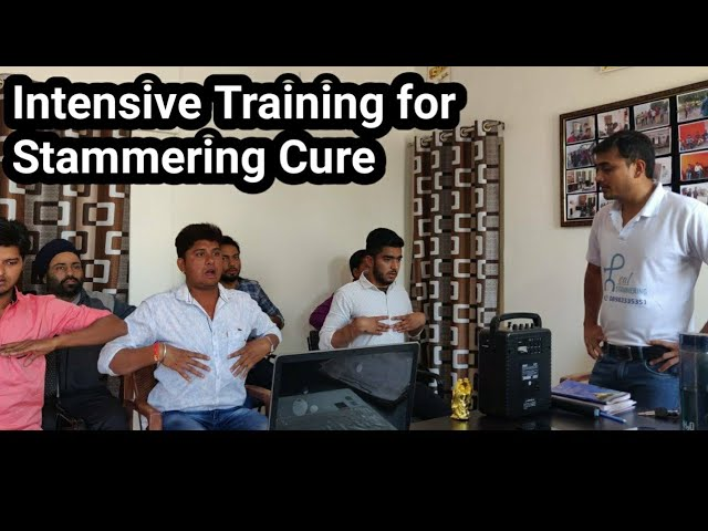 Intensive therapy for overcoming stammering | stuttering| हकलाना ठीक करे |