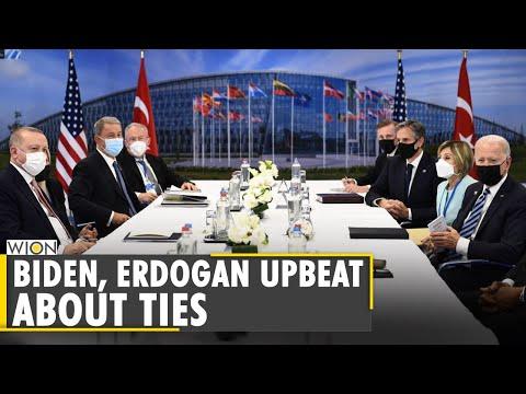 Erdogan and Biden met in Brussels to reset bilateral relations   NATO Summit   Latest English News