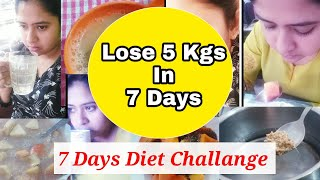 7 Days Detox Diet Challenge - Day 1 | Lose 5 Kgs In 7 Days | how to lose weight fast