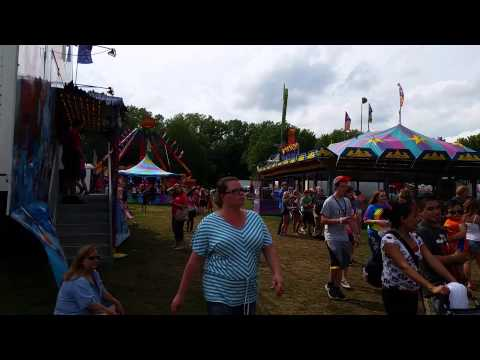 Marshall County Blueberry Festival 2014 rides