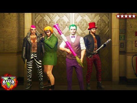 GTA 5 Heist - Meet The Super Villains!! - Grand Theft Auto 5 Online - (GTA 5 Heist)