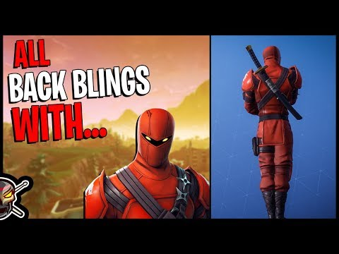 All Back Blings on HYBRID - Fortnite Cosmetics