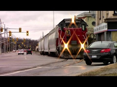 SOR Street Running Train! Brantford Burford Sub Classic