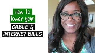 How to lower your Cable & Internet Bills | Debt Free Friday