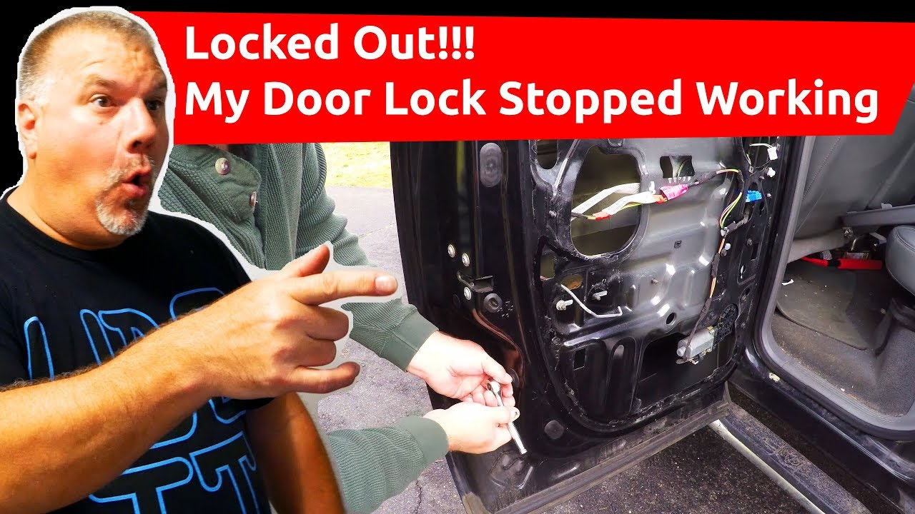 How To Remove And Install Dodge Ram Power Lock Actuator In Under 50 2013 1500 Fuse Diagram Minutes Broken