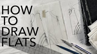 Watch Me Design 15: How to Draw Flats