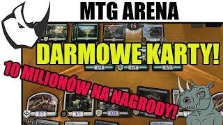 Darmowe Karty i 10 Milionów Puli Nagród w Magic The Gathering Arena