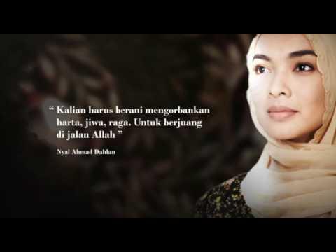 Official Poster Film Nyai Ahmad Dahlan !!