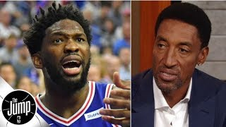 Sky's the limit for the 76ers if Joel Embiid can keep his weight down - Scottie Pippen | The Jump