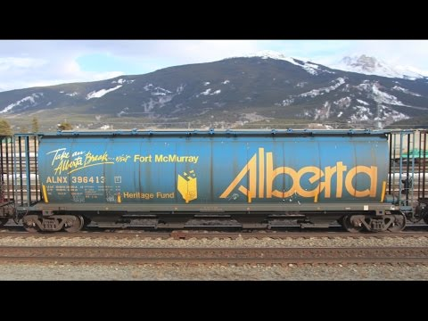 100 NSC Government of Alberta 4550 cu. ft. Covered Hoppers - ALNX