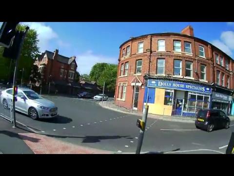 Smithdown Road to Sefton Park, Liverpool, England...