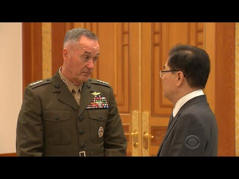Gen. Dunford visits Asia amid North Korea threats, China trade dispute
