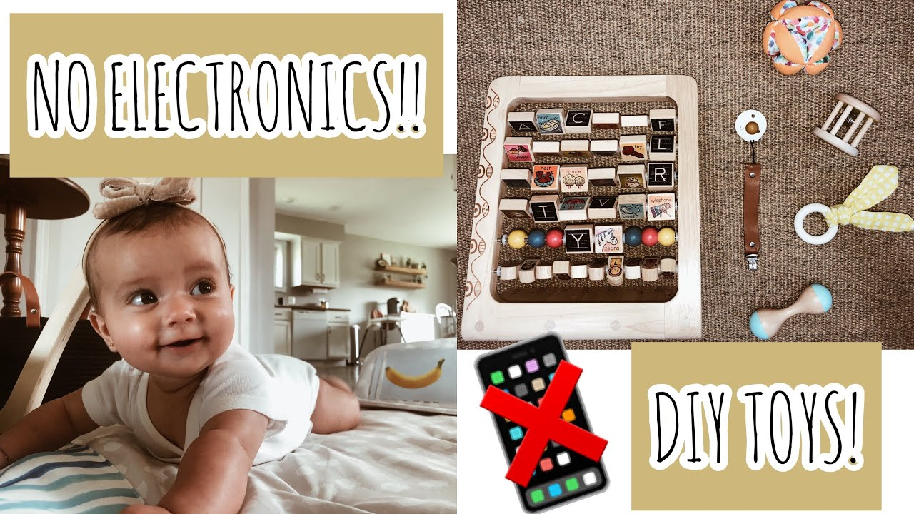 Entertain A Baby WITHOUT Electronics!! Tips + DIY