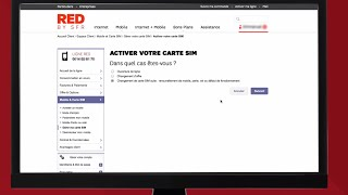 Comment activer ma carte SIM RED by SFR ?