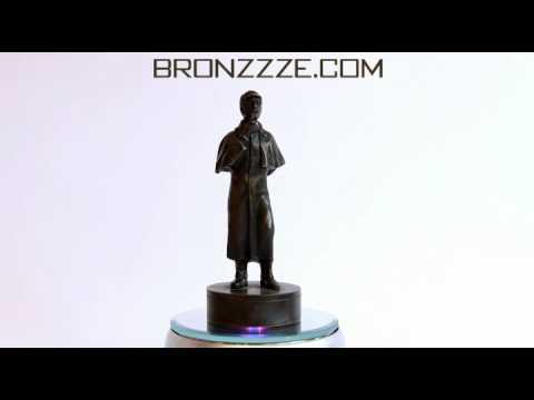 Bronze Sculpture antiques - Print Sherlock Holmes. Bronze, Russia